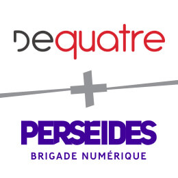 Logo Desquatre + Perseides